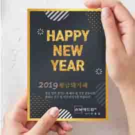 Happy New Year 2019년 황금돼지해,